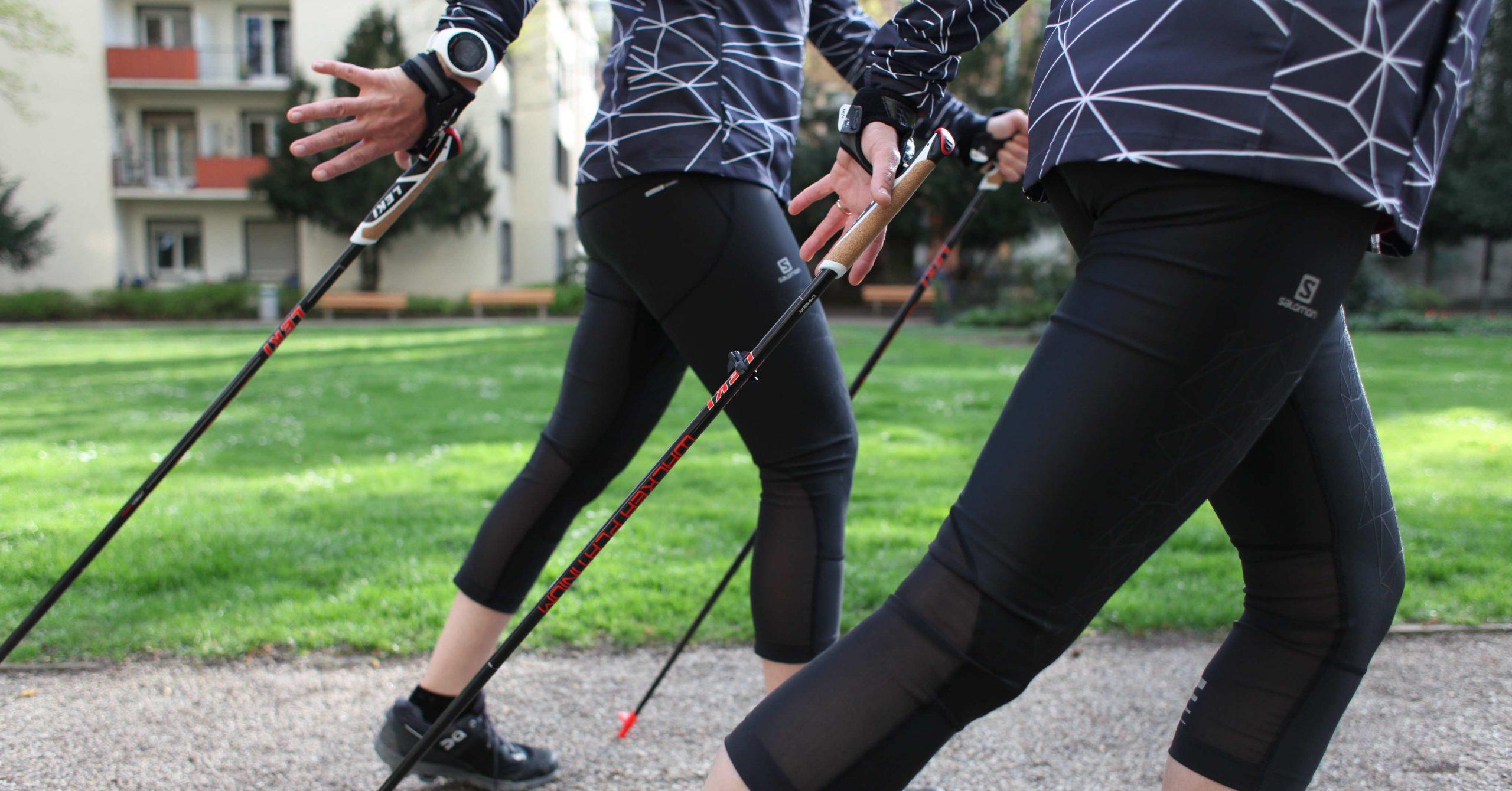 Neu bei engelhorn – Nordic Walking Gruppe für Anfänger