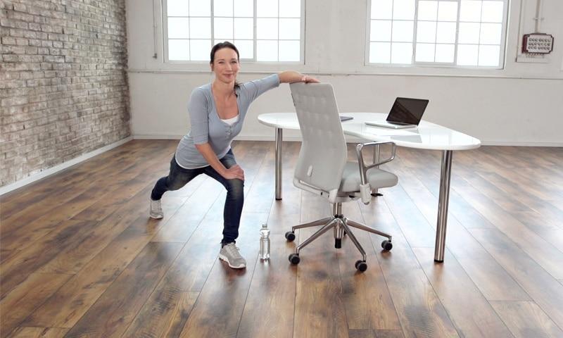 """Office-Workout """"Rücken-Relax"""" mit fitnessraum.de"""