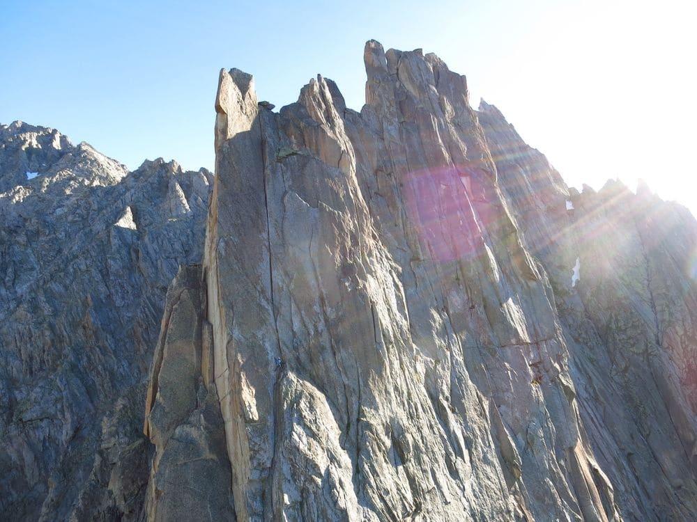 Oktobersonne und Traumgranit: Tipps für Klettern am Salbit