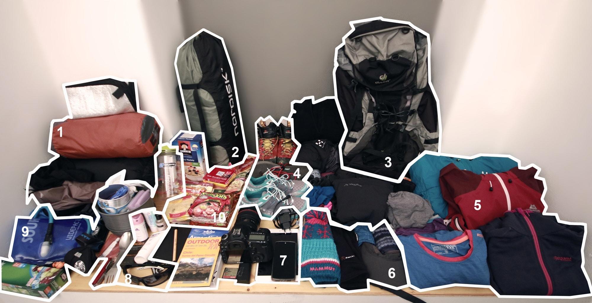 Packliste: Trekking in Patagonien