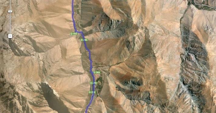 Per Mountainbike durch Valle del Elqui
