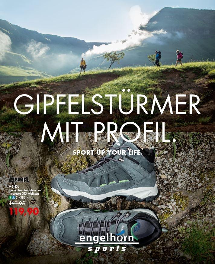 Prospekt: Gipfelstürmer mit Profil