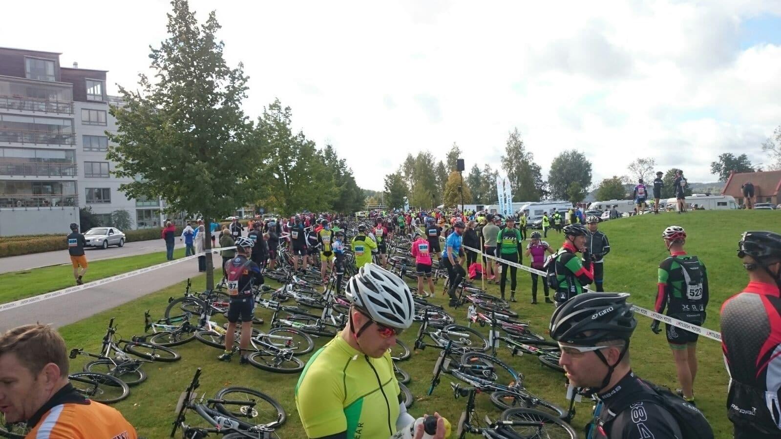 Radmarathon in Schweden