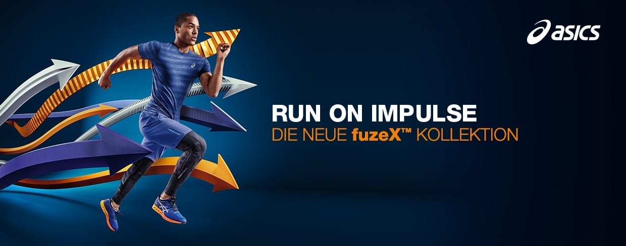 Run on impulse: Asics fuzeX