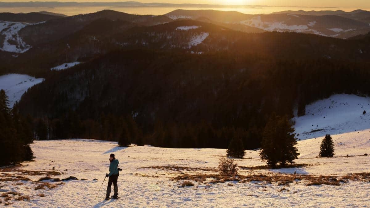 Schneeschuhwandern im Südschwarzwald: Anbieter für geführte Touren