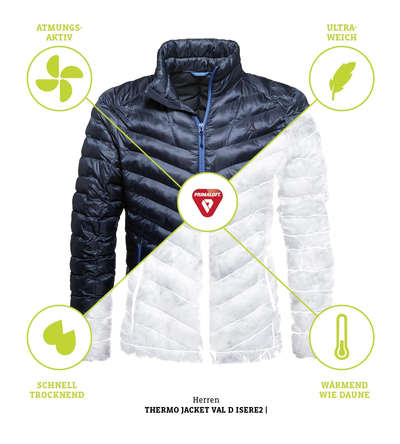 Schöffel Thermo Jackets: Wärme kann so leicht sein