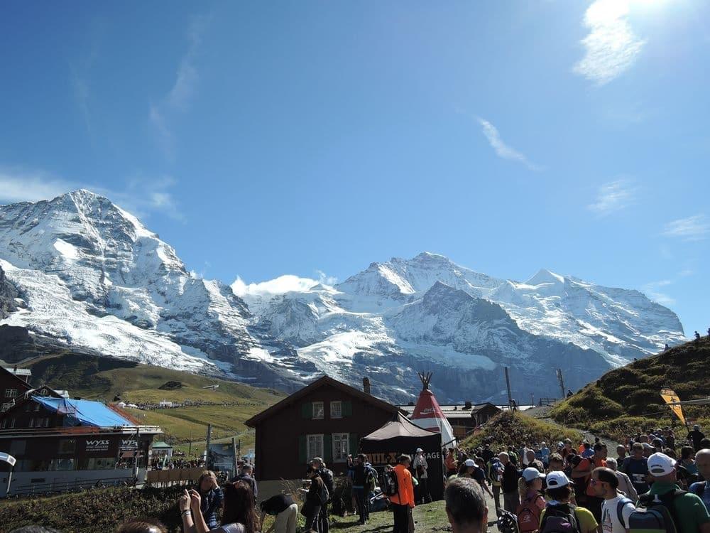 Schweizer Alpen: Jungfrauentrail