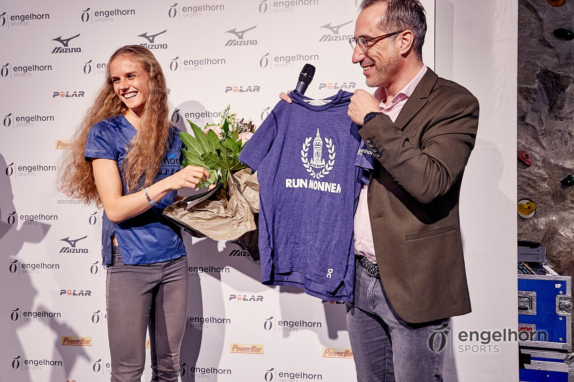 Siegerehrung 18. engelhorn sports Mizuno Laufcup und Salomon Trailcup