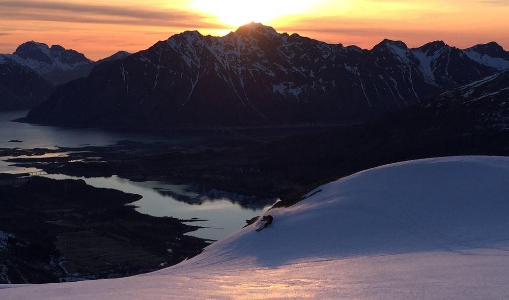 Skitouren in Nord-Norwegen