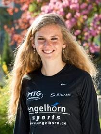 Sportstipendium USA: engelhorn sports Läuferteam Mitglied Fabienne bereitet sich vor