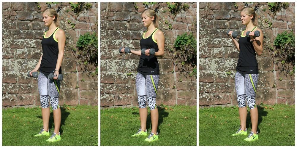 Starke, schlanke Oberarme! Gib deinen Armen in 3 Schritten mehr Kraft