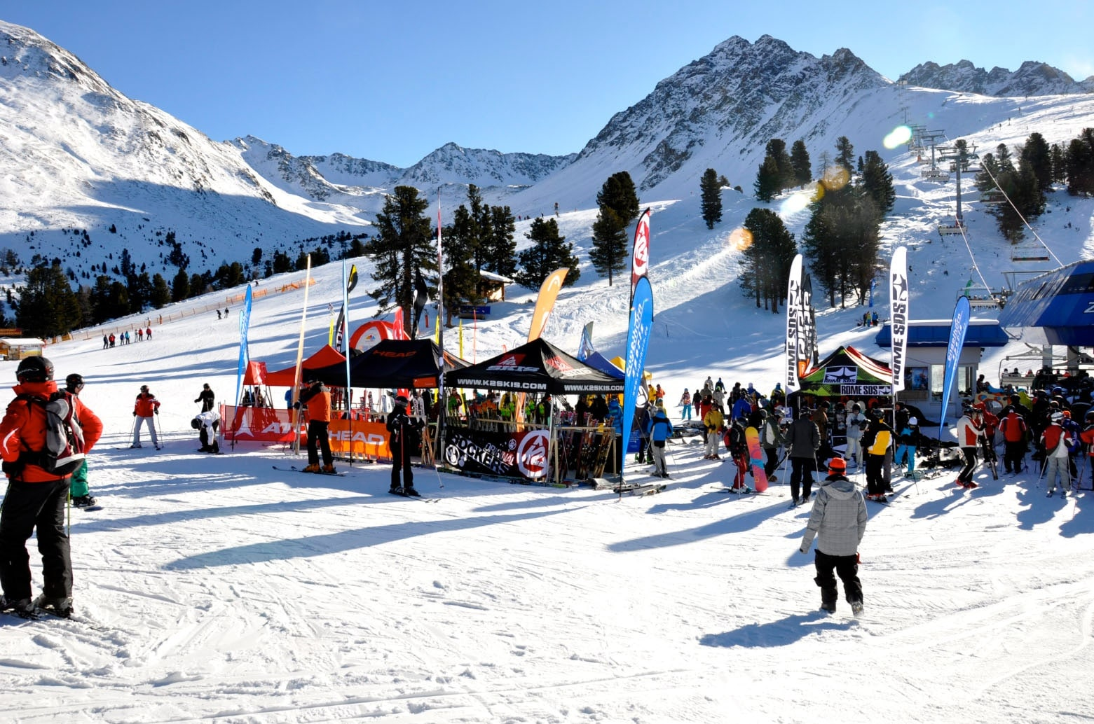 Startschuss Nauders: Ski & Snowboard Testweekend
