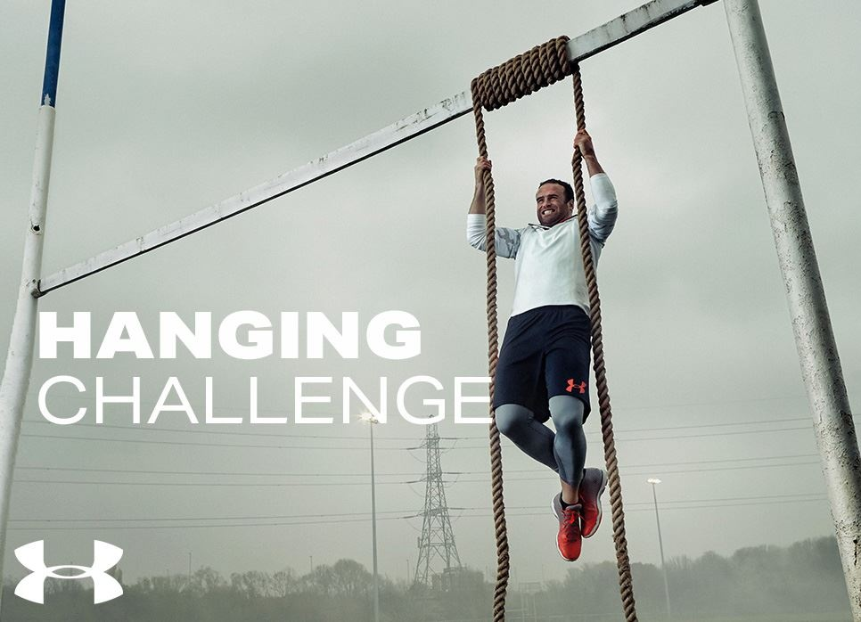 Trainiere für die Under Armour Hanging Challenge