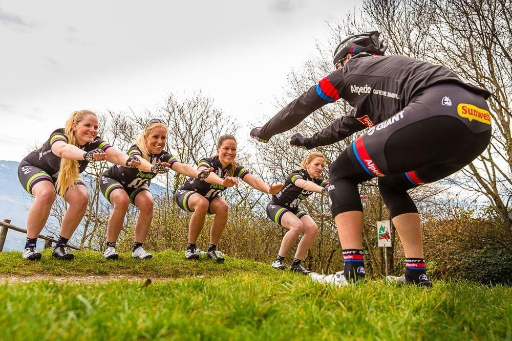 Trainingslager des Team Alpecin 2015 in Kaltern am See