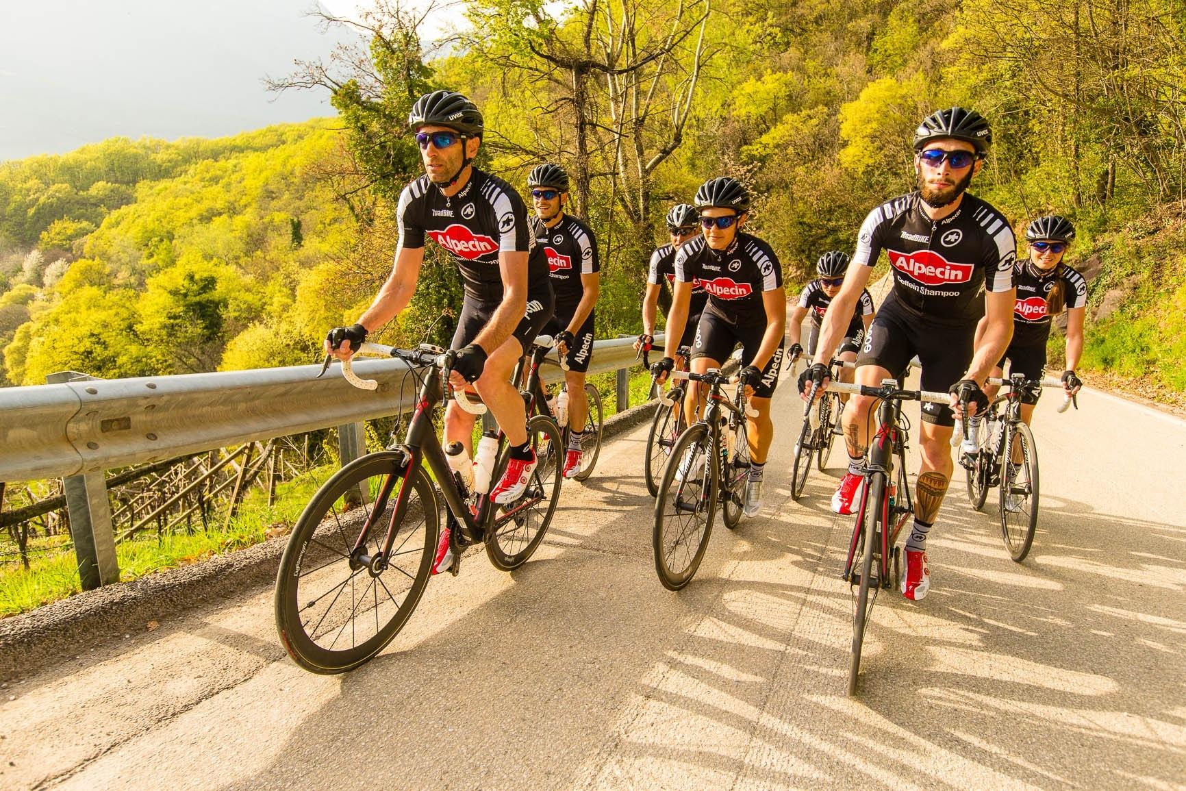 Trainingslager des Team Alpecin in Kaltern – ein Erlebnisbericht