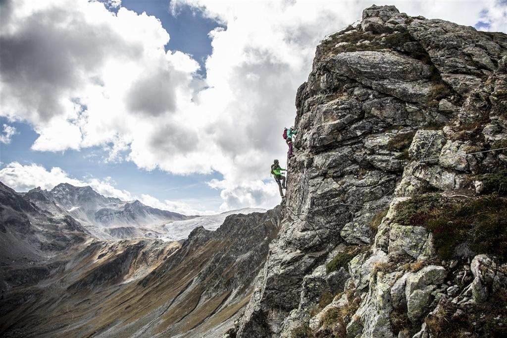 VAUDE Klettersteig Camp in Gargellen