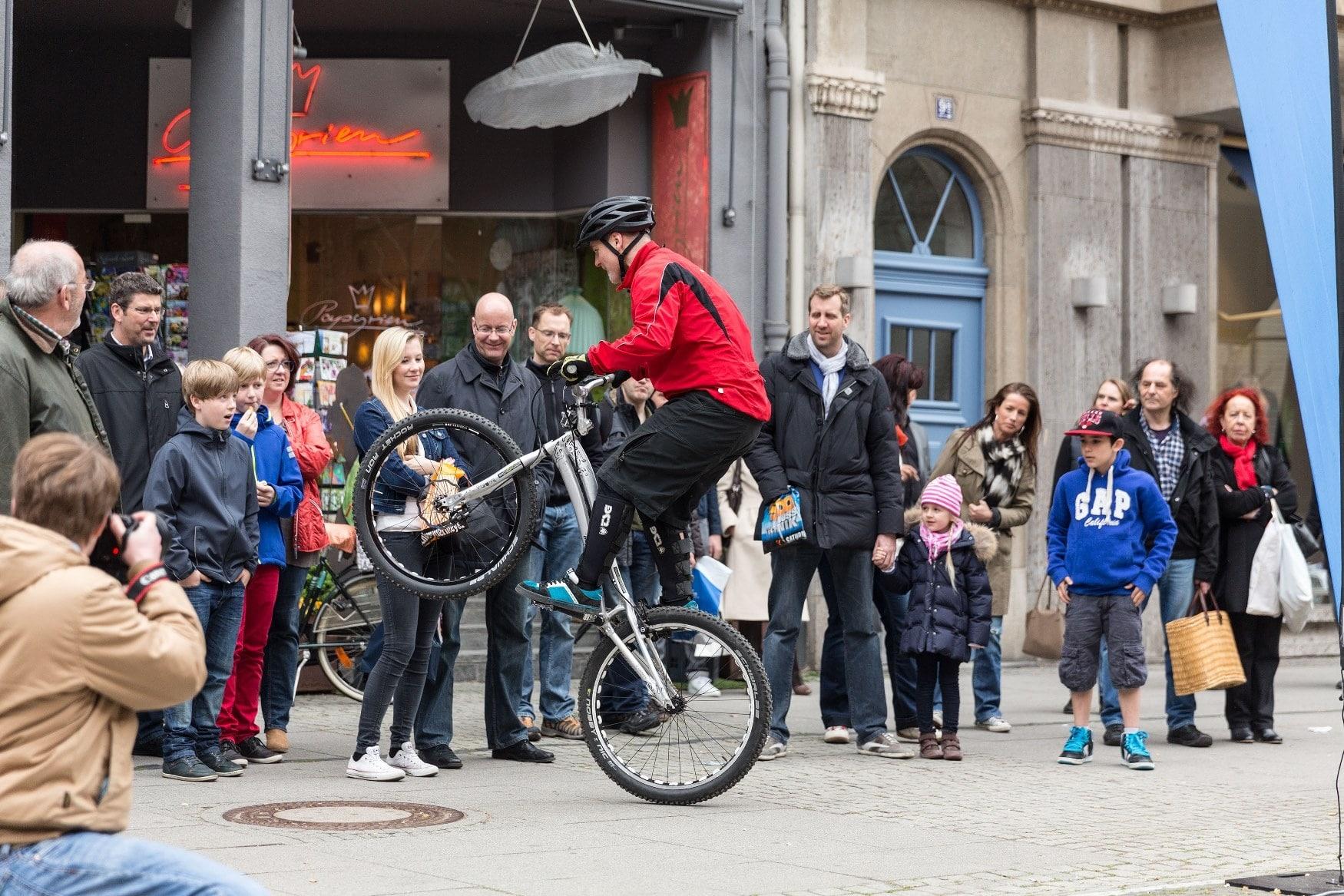 Von Lüttich bis Bastogne über eine Schwarzwaldtour und zurück: Das Bike-Event in Mannheim
