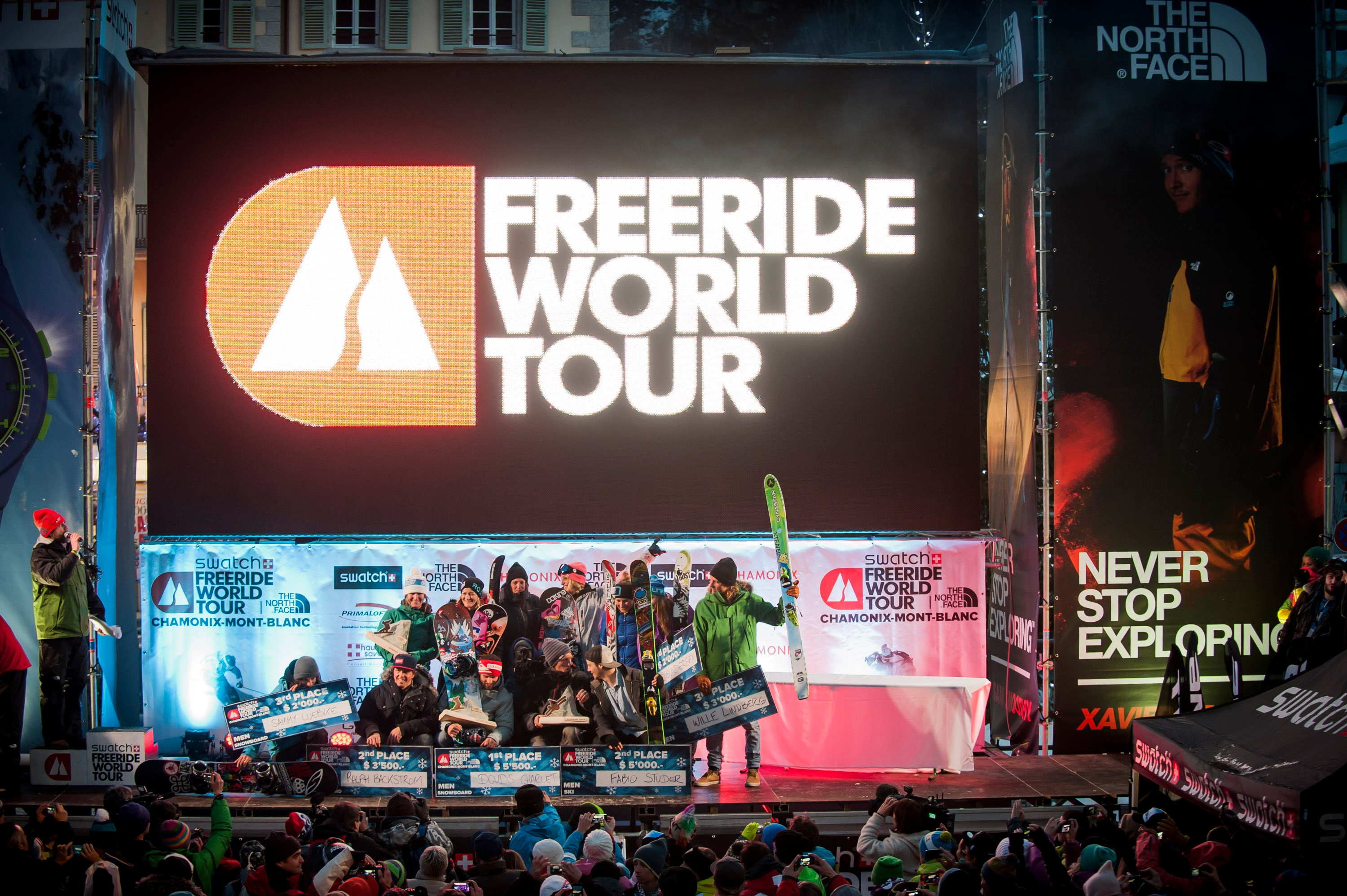 Waghalsige Action live im Pillerseetal - Livestream Freeride World Tour 9.3.2013