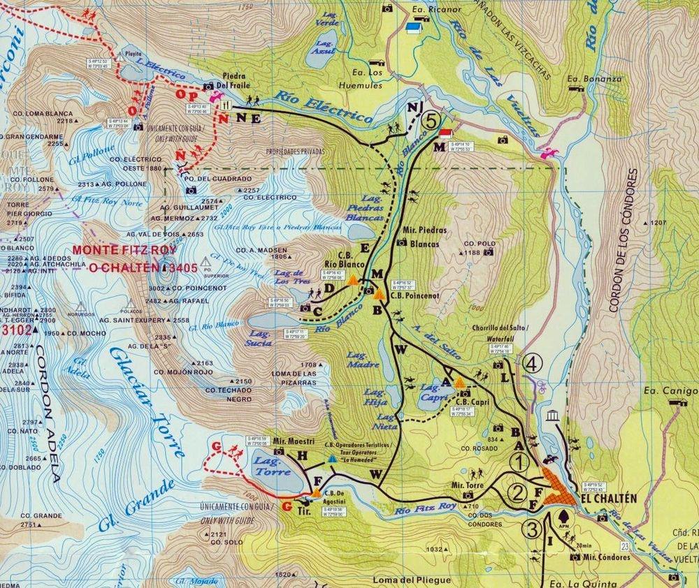 Wandern und Trekking in Patagonien - Tipps und Hinweise