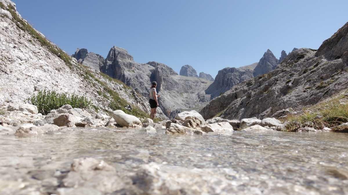 Wandertipp: über das Altensteintal zur Drei Zinnen Hütte
