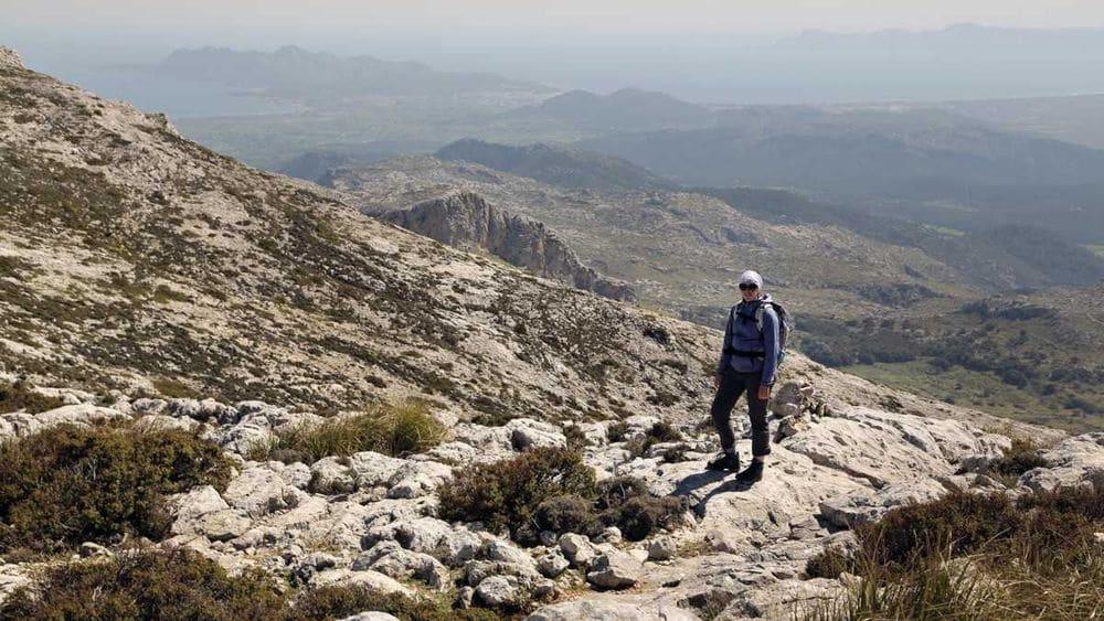 Wanderung Puig Tomir auf Mallorca