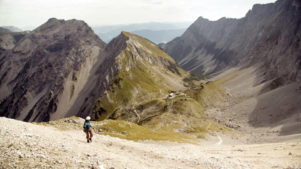 Wanderung zur Lamsenjochhütte im Karwendel
