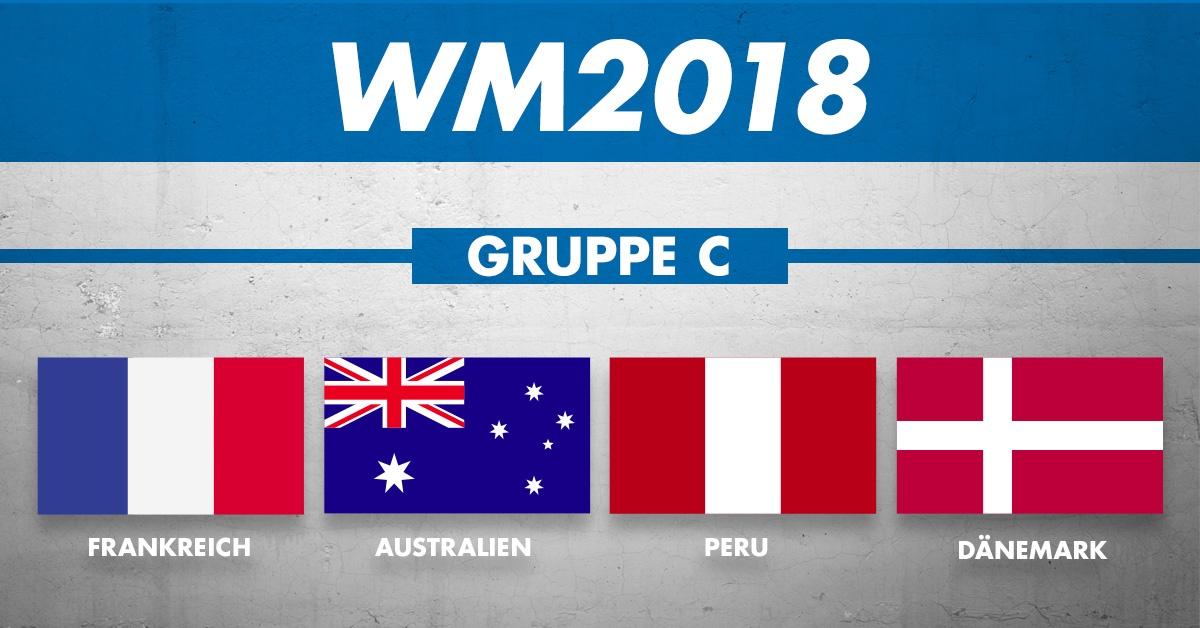WM Gruppe C: die Mannschaften
