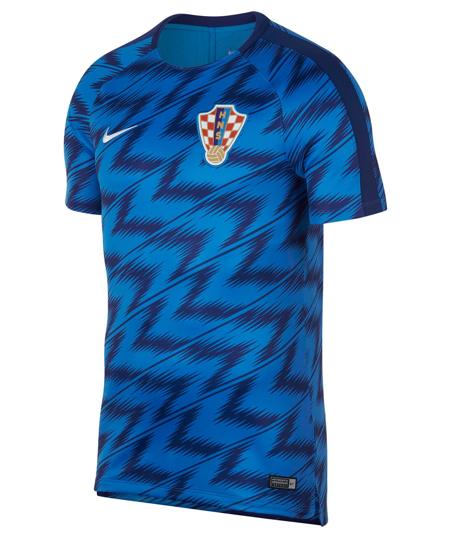 Herren Fußballtrikot Kroatien Dry Squad WM 2018