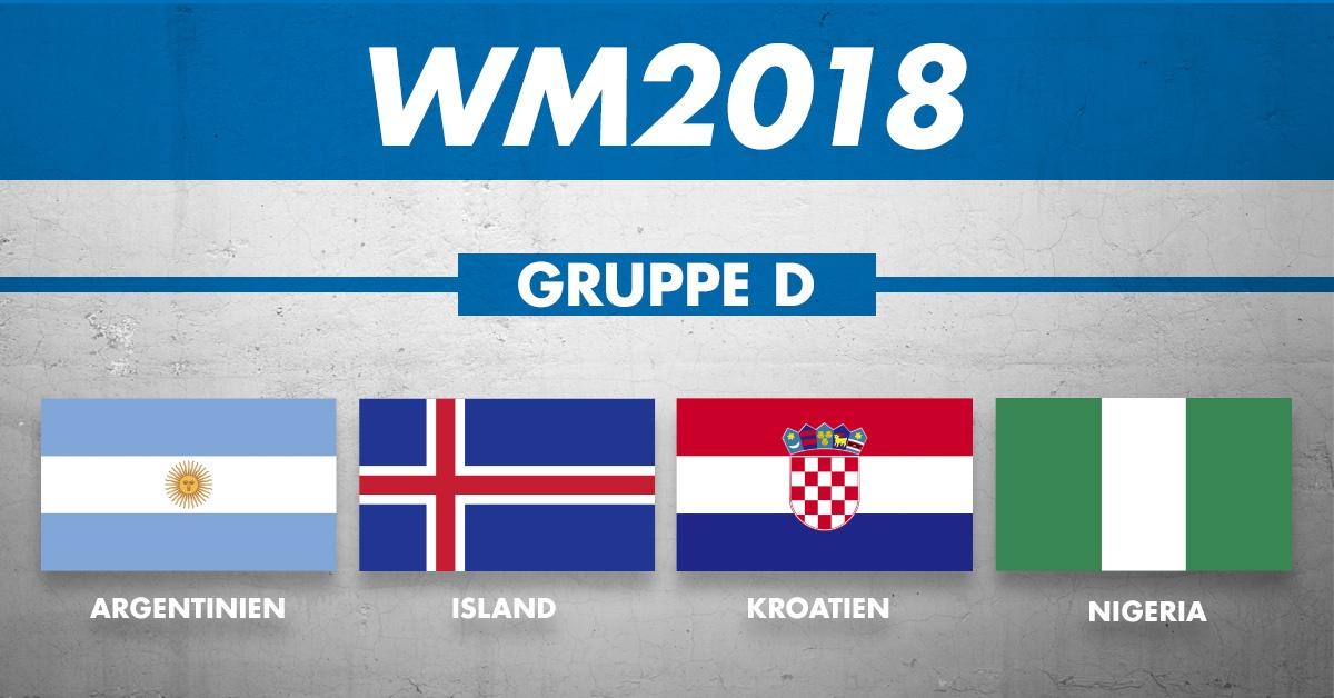 WM GRUPPE d: Die Mannschaften