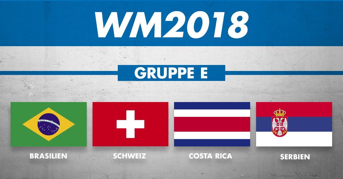 WM Gruppe E: Die Mannschaften