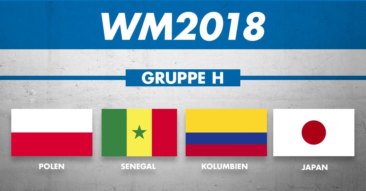 WM Gruppe H: Die Mannschaften