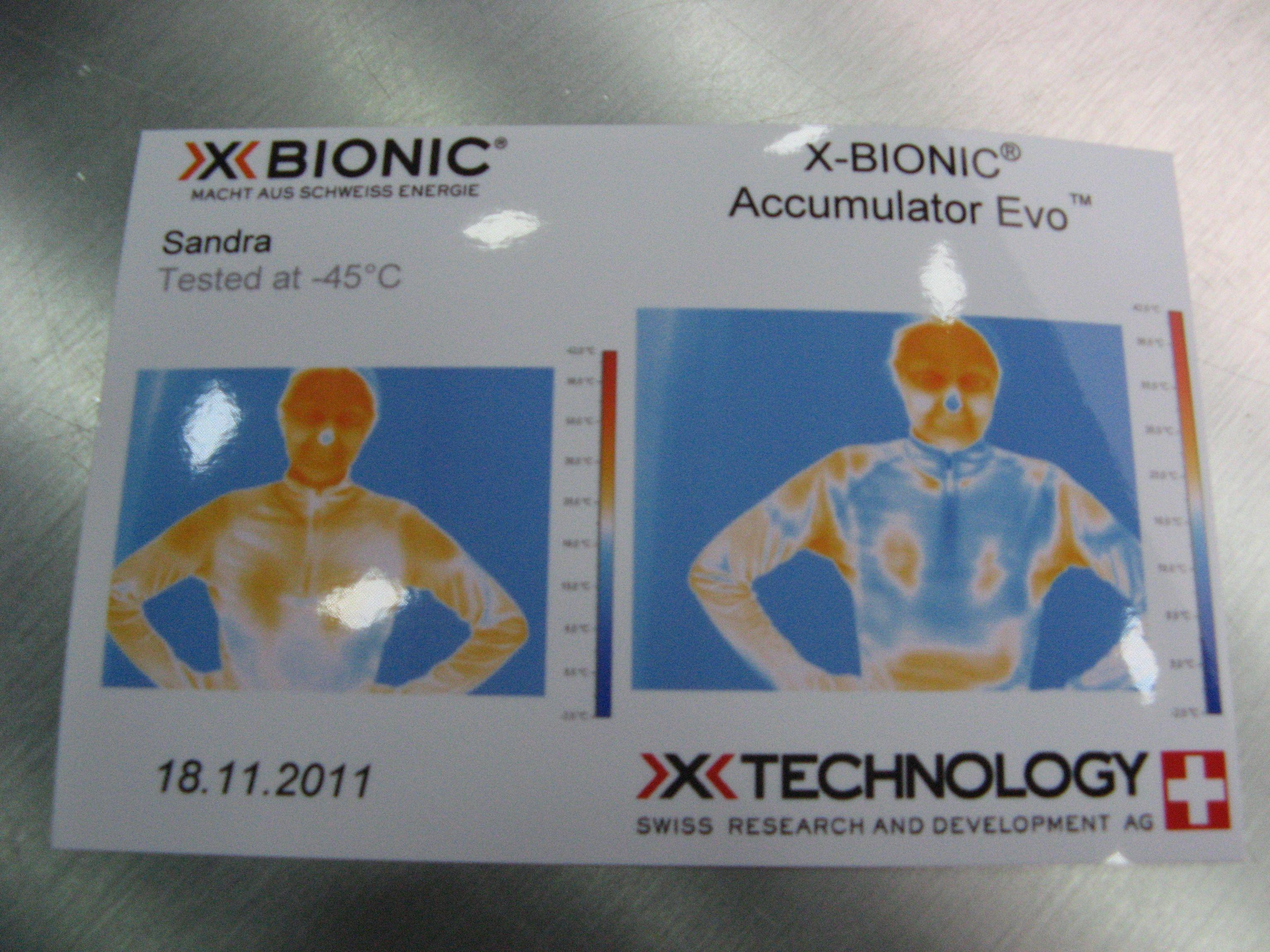 X-Bionic – Frieren war gestern