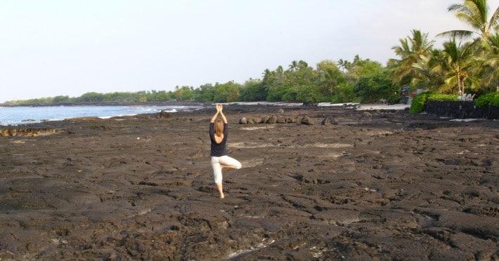 Yoga-Übung: Vrkshasana, der Baum - eine andere Perspektive