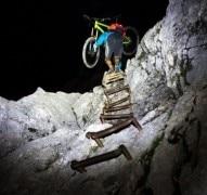 Zum Sonnenaufgang mit dem Fahrrad auf die Alpspitze