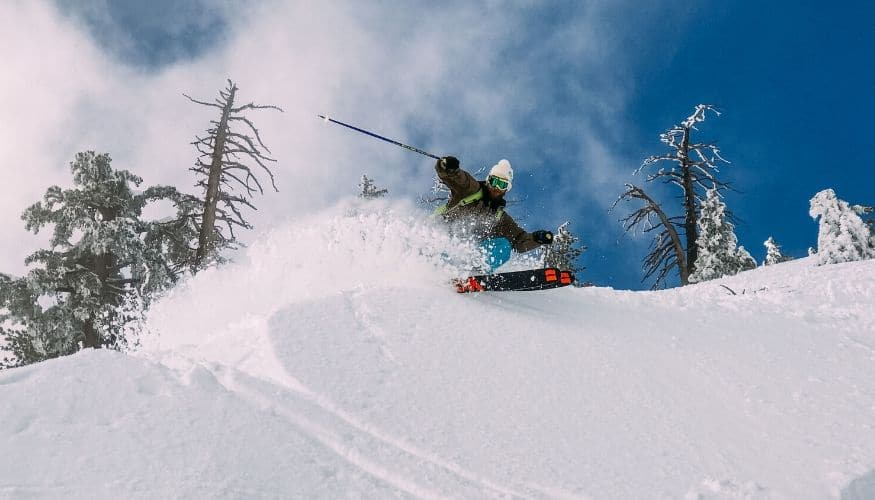 Freeride Ski: die besten Gebiete mit Powder Pur