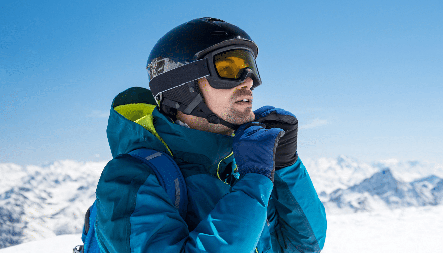 Die perfekte Skihelmgröße finden