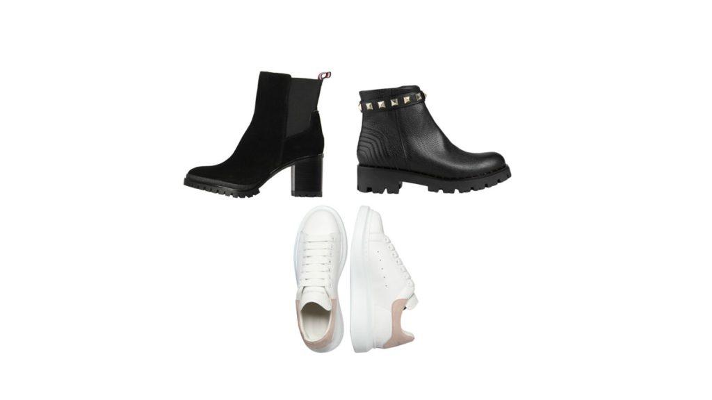 Schuhe zum Teddymantel