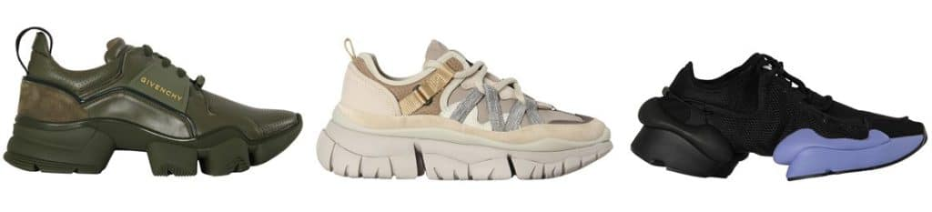 statement_trekking_sneaker_givenchy_chloé_y3_dad shoes