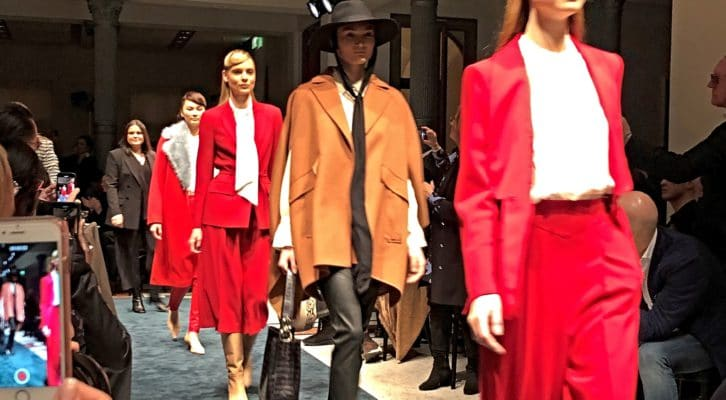 H/W 2020/21: – Pearls, Stories and Champagne, die Marc Cain Runway Show der Berliner Fashion Week