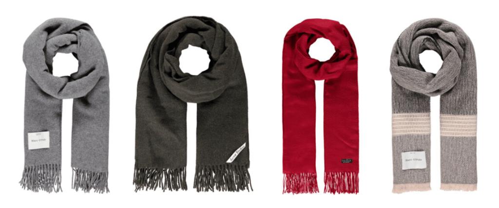 Weihnachtsgeschenk Schal