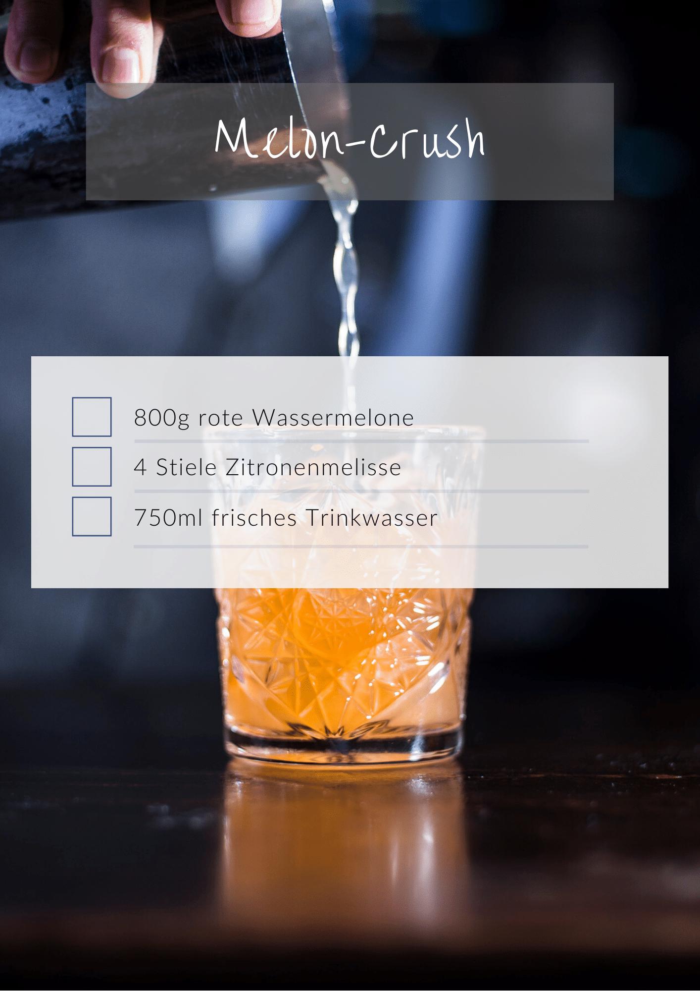 Gesunde cocktails für silvester