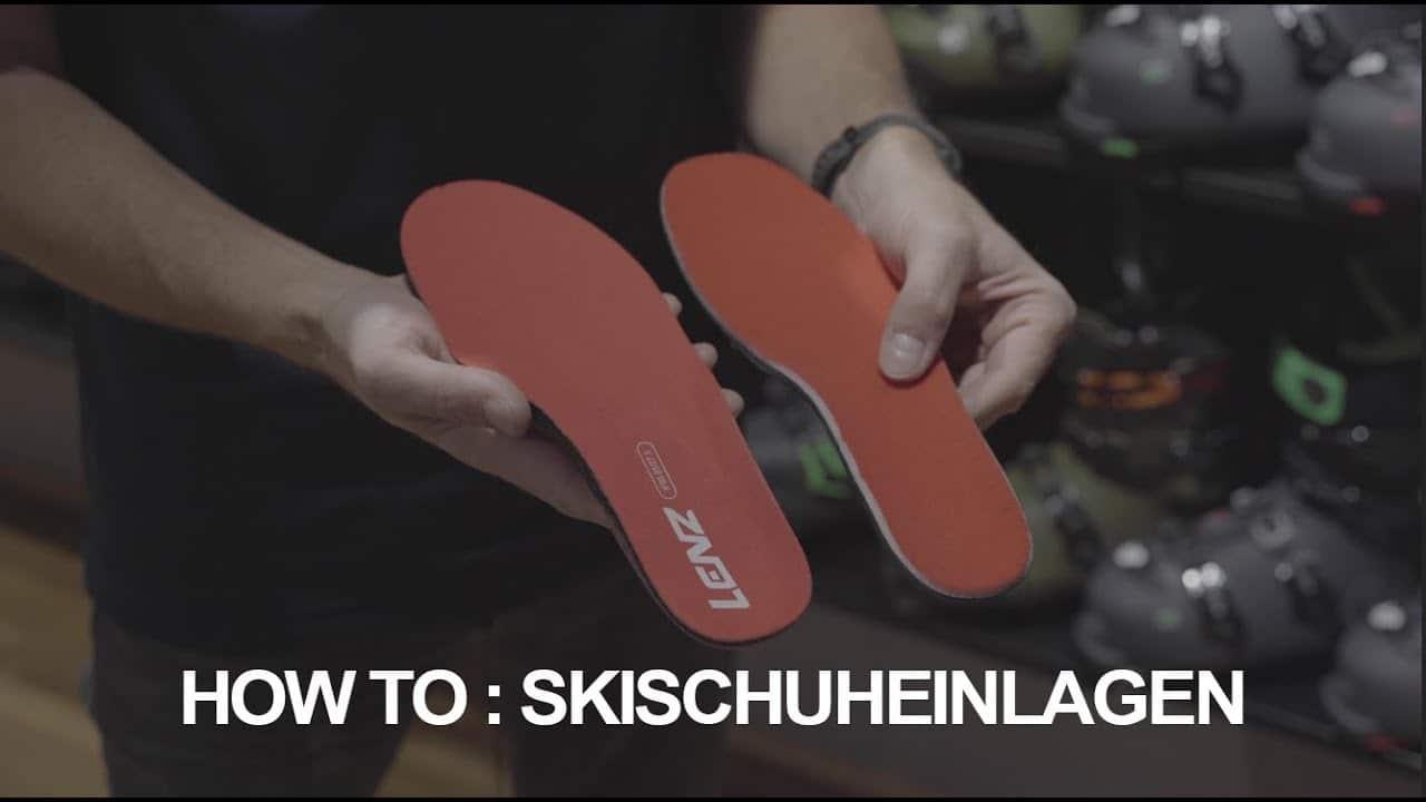 Skischuheinlagen - Darum braucht ihr unbedingt welche!