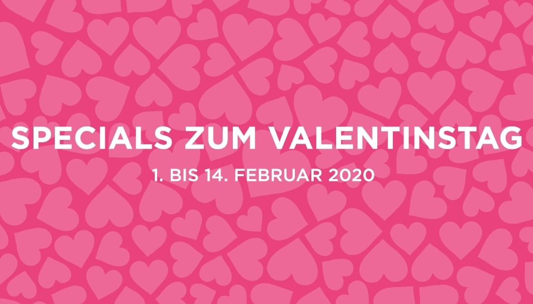 Specials bei engelhorn zum Valentinstag