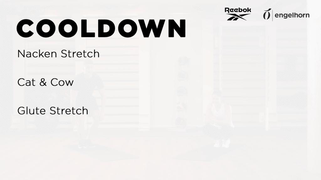 Cooldown Übungen für das Couple Workout