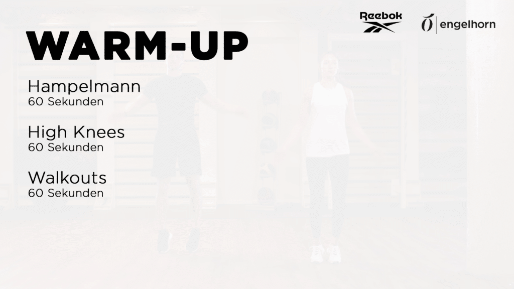 Warm Up Übungen für das Couple Workout