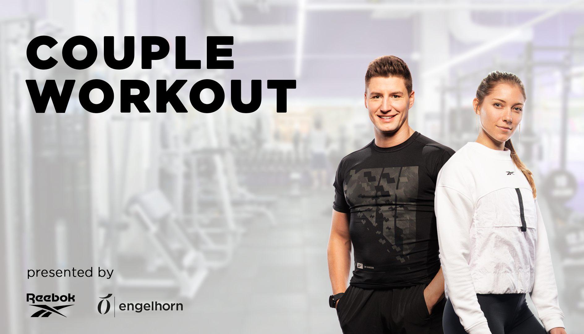Macht mit bei unserem Couple Workout mit Alex² und Reebok