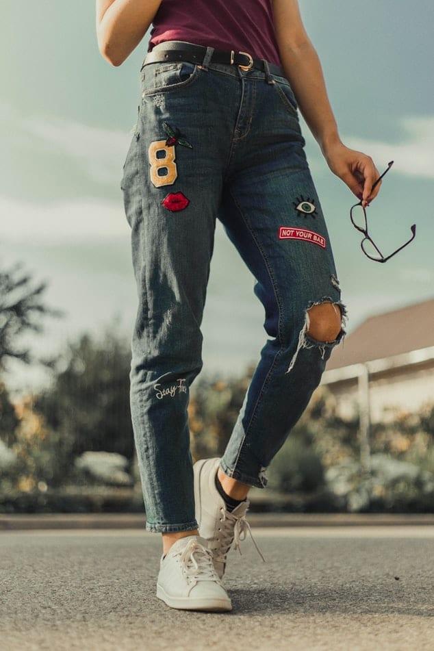richtige Jeans für großen Po