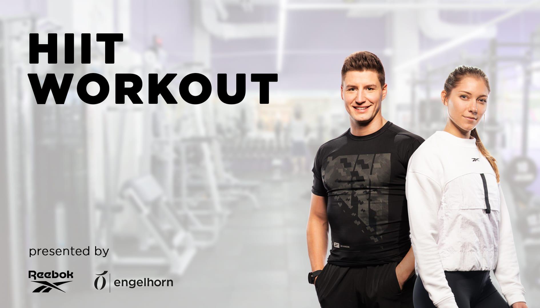 Macht mit bei unserem HIIT Workout mit Alex² und Reebok
