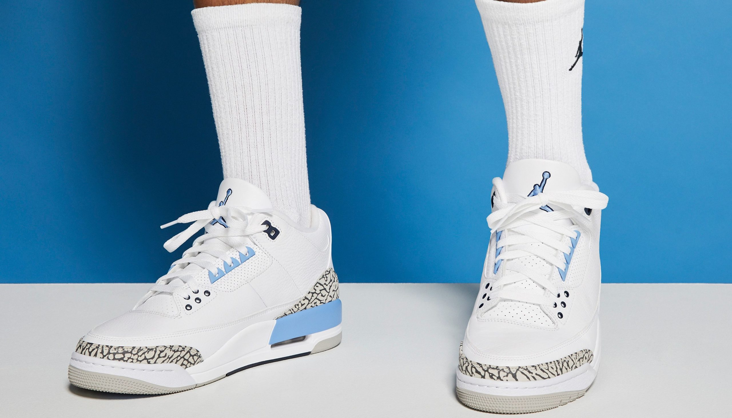 "Sneaker Release Update: Air Jordan 3 Retro ""UNC"""