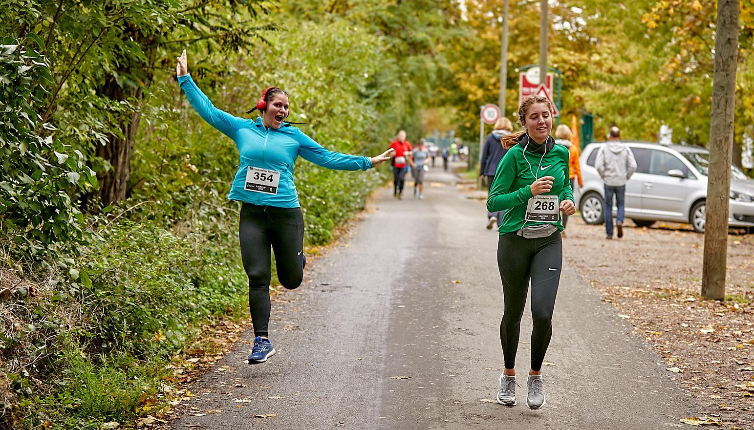 Laufen macht glücklich – so noch glücklicher